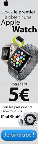 Gagnez une Apple Watch !